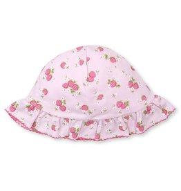 Kissy Kissy Floppy Hat w/ Strawberry