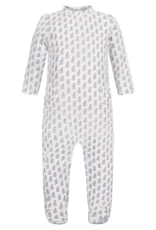 Lila and Hayes Preston Boys Footed Romper