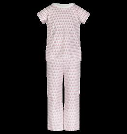 Lila and Hayes Molly Bunny Love Pink Drawstring Pant Set