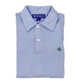 The Bailey Boys Light Blue Short Sleeve Polo