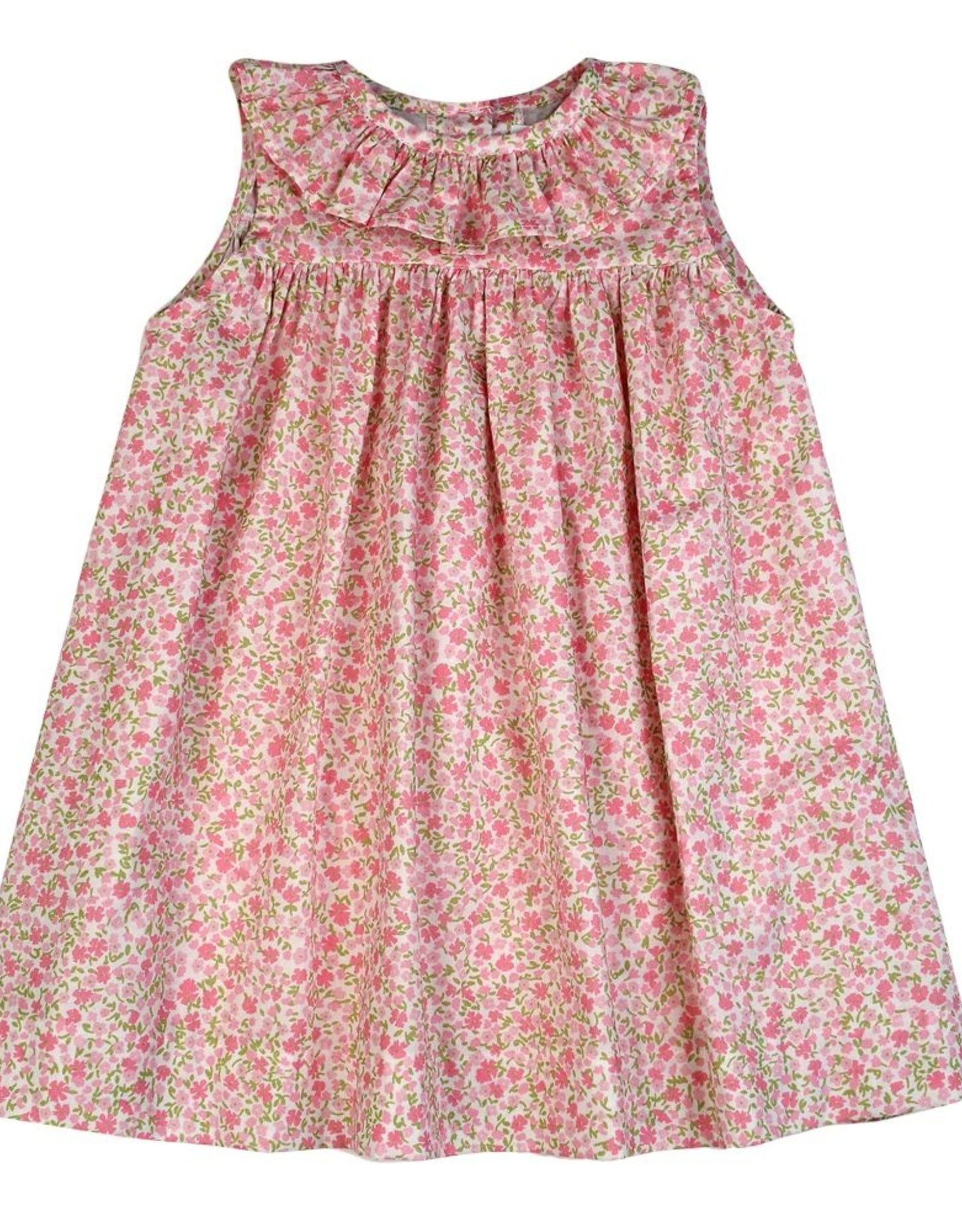 Funtasia Too Floral Ruffle Dress Pink