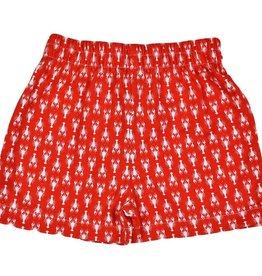 Funtasia Too Crawfish Shorts Red