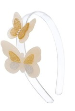 Lillies&Roses Double Butterfly Headband