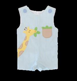 Zuccini Giraffe Seersucker Jon Jon