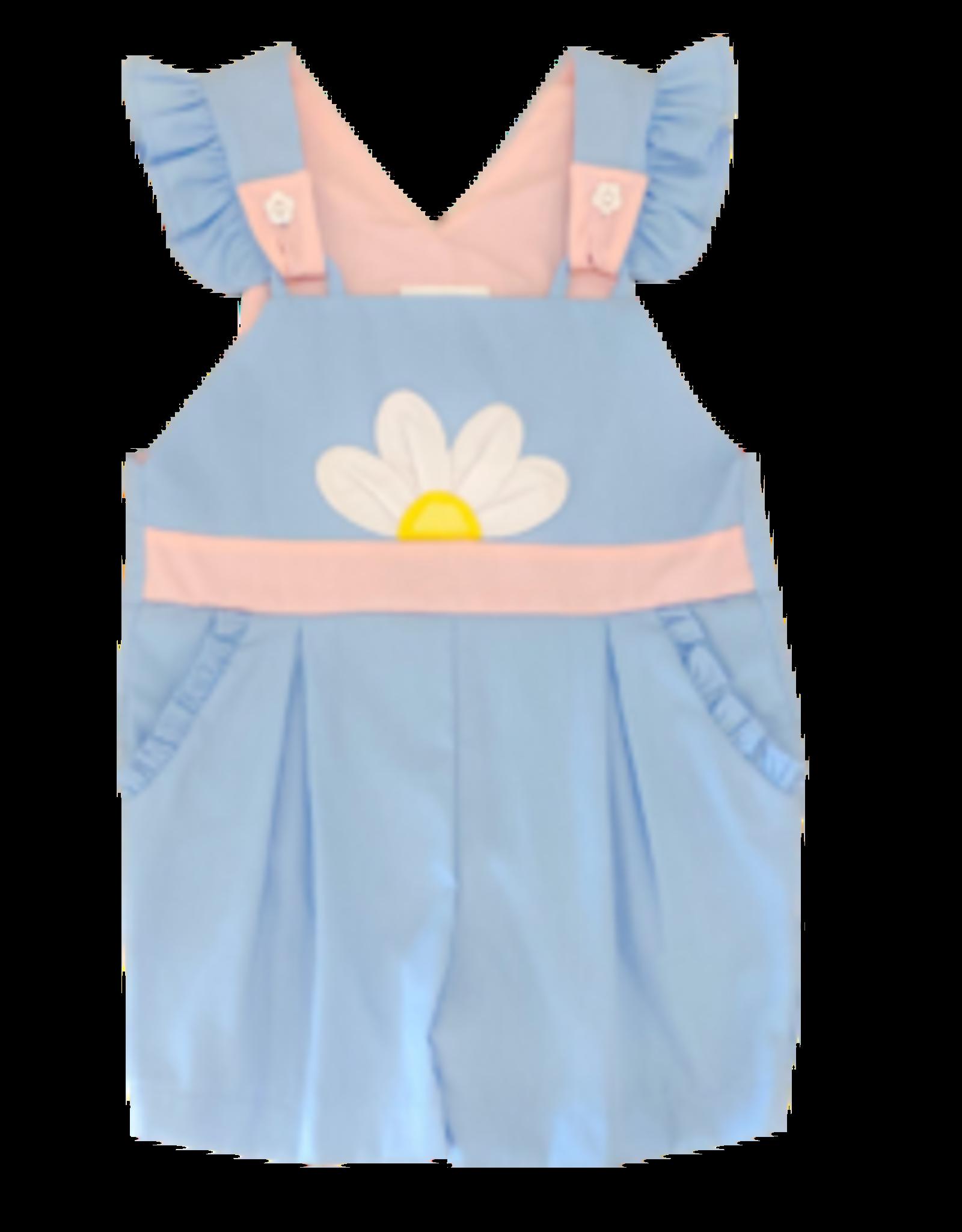 Zuccini Blue Daisy Susie Overall