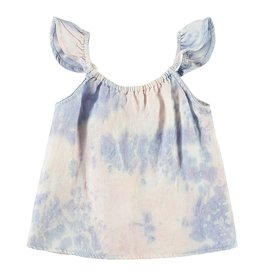 Bella Dahl Girl Sleeveless Shell Tank Galaxy Tie Dye