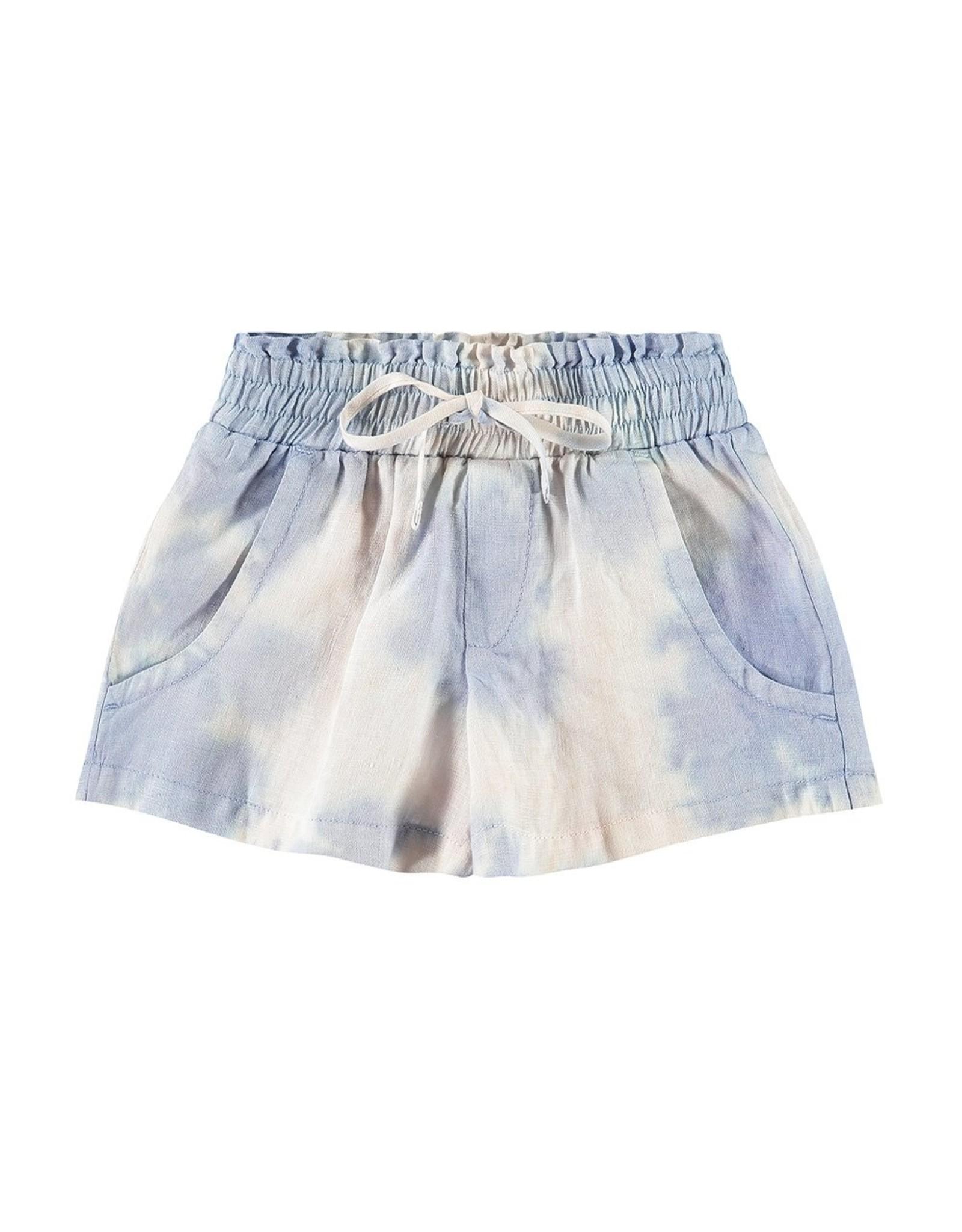 Bella Dahl Girl Galaxy Tie Dye Scoop Pocket Short