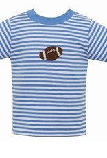 Claire and Charlie Periwinkle Football Shirt 5