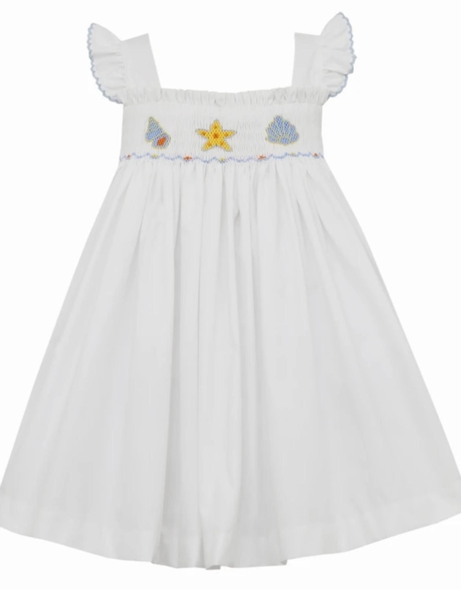 Petit Bebe Seashells Strap Dress