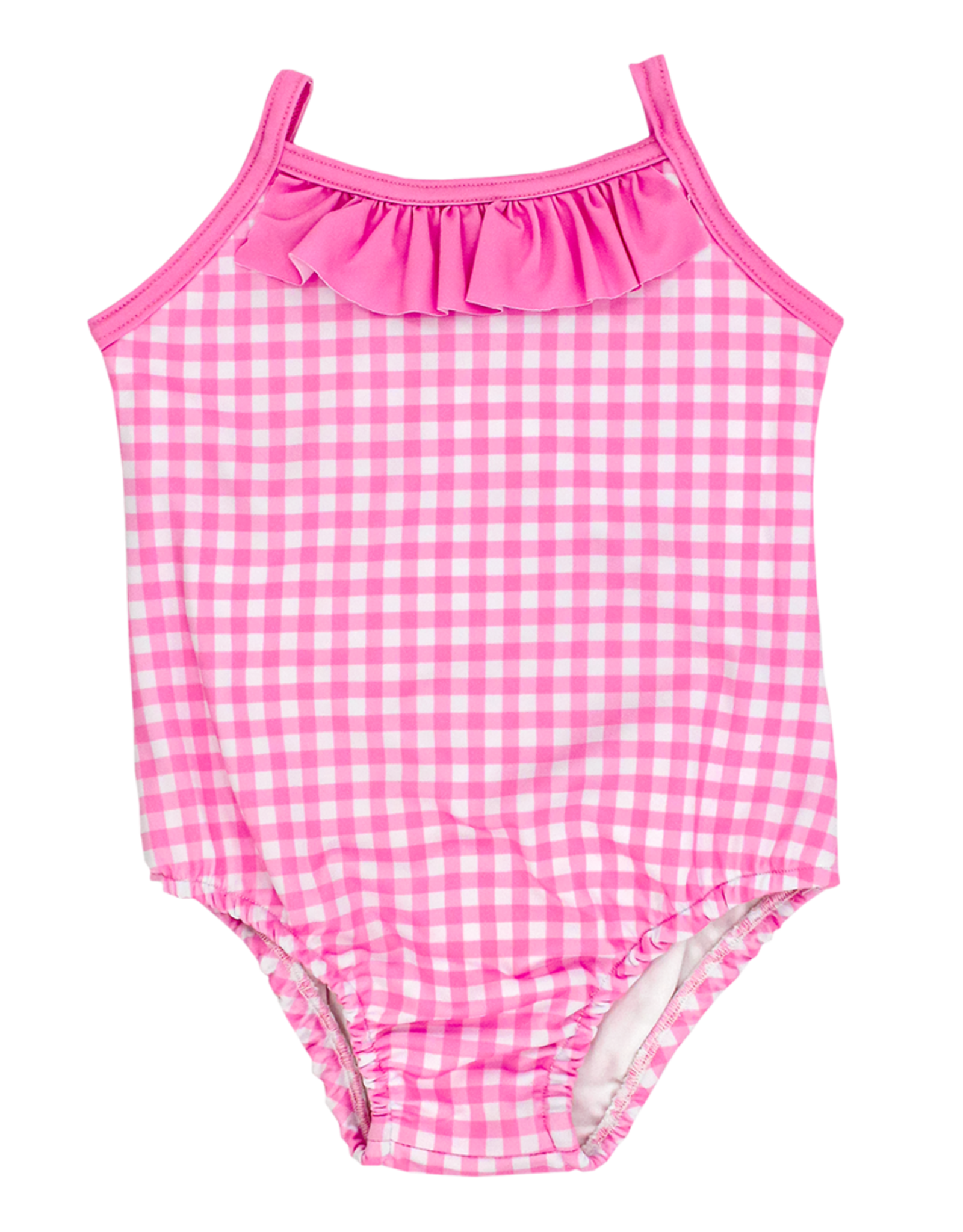 The Bailey Boys Pink Gingham Swimsuit