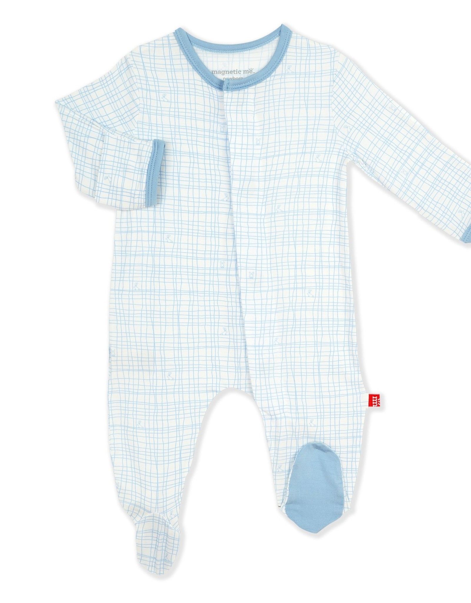 Magnetic Me Greenwich Plaid Magnetic Footie