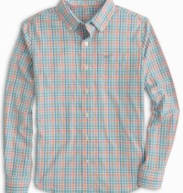 Southern Tide Parrotfish End On End Check Sportshirt