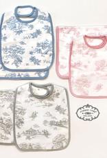 Maison Nola Bib And Burp Cloth Set