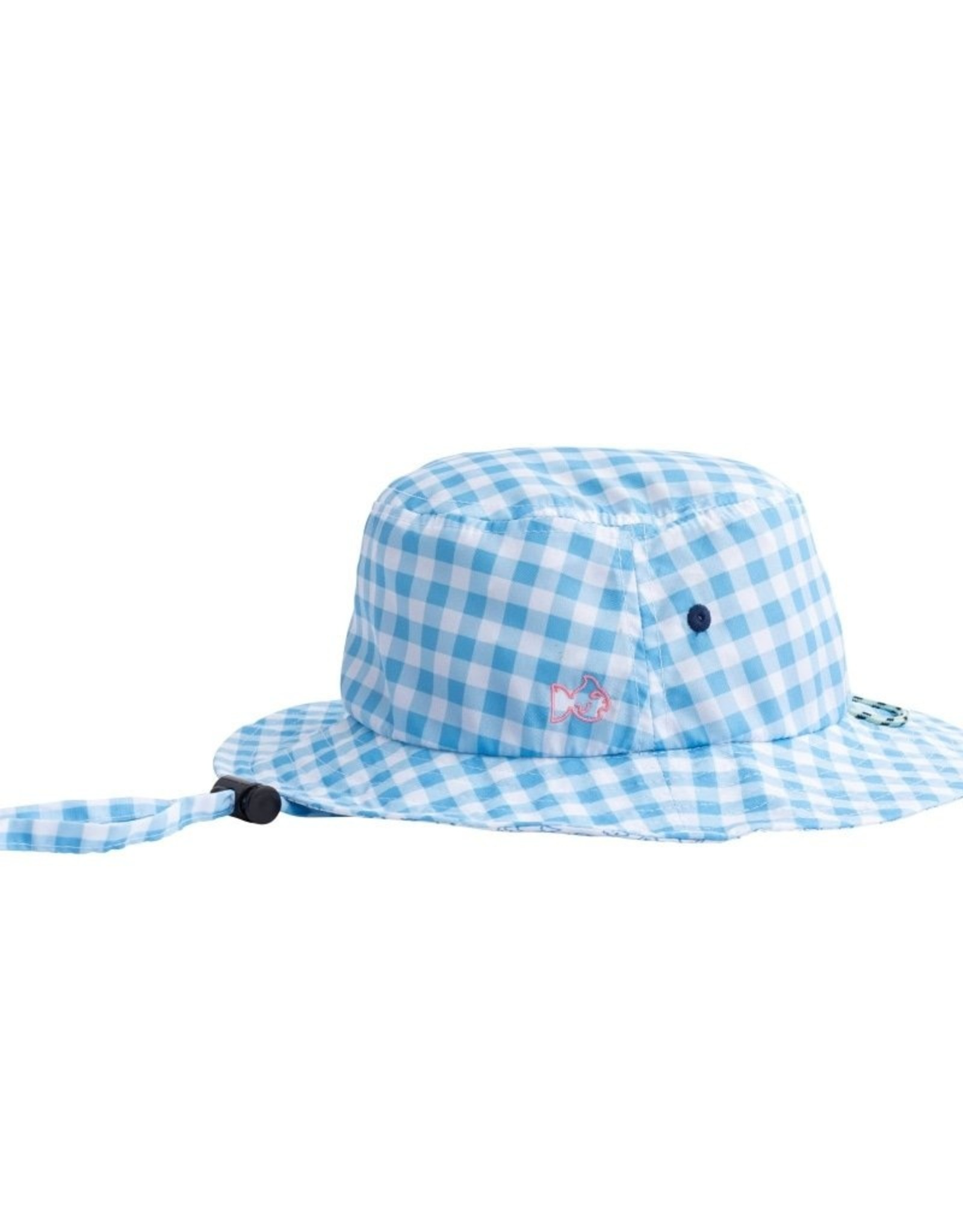 Prodoh Blue Perennial Performance Bucket Hat in Gingham