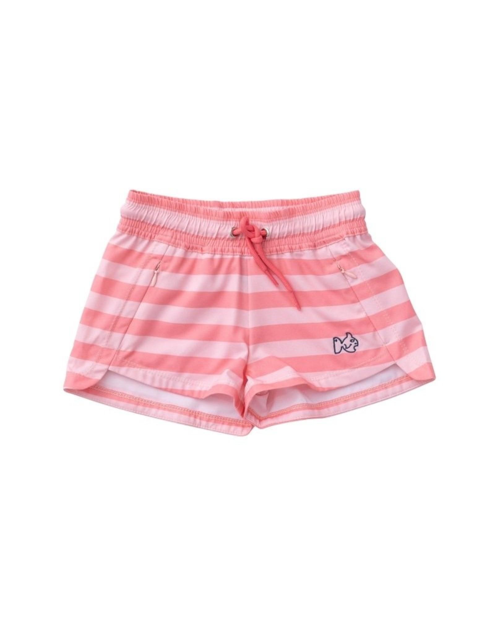 Prodoh Flamingo Pink Girl's Beach Cruiser Short