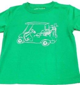 Mustard & ketchup Green Golf Cart Tee