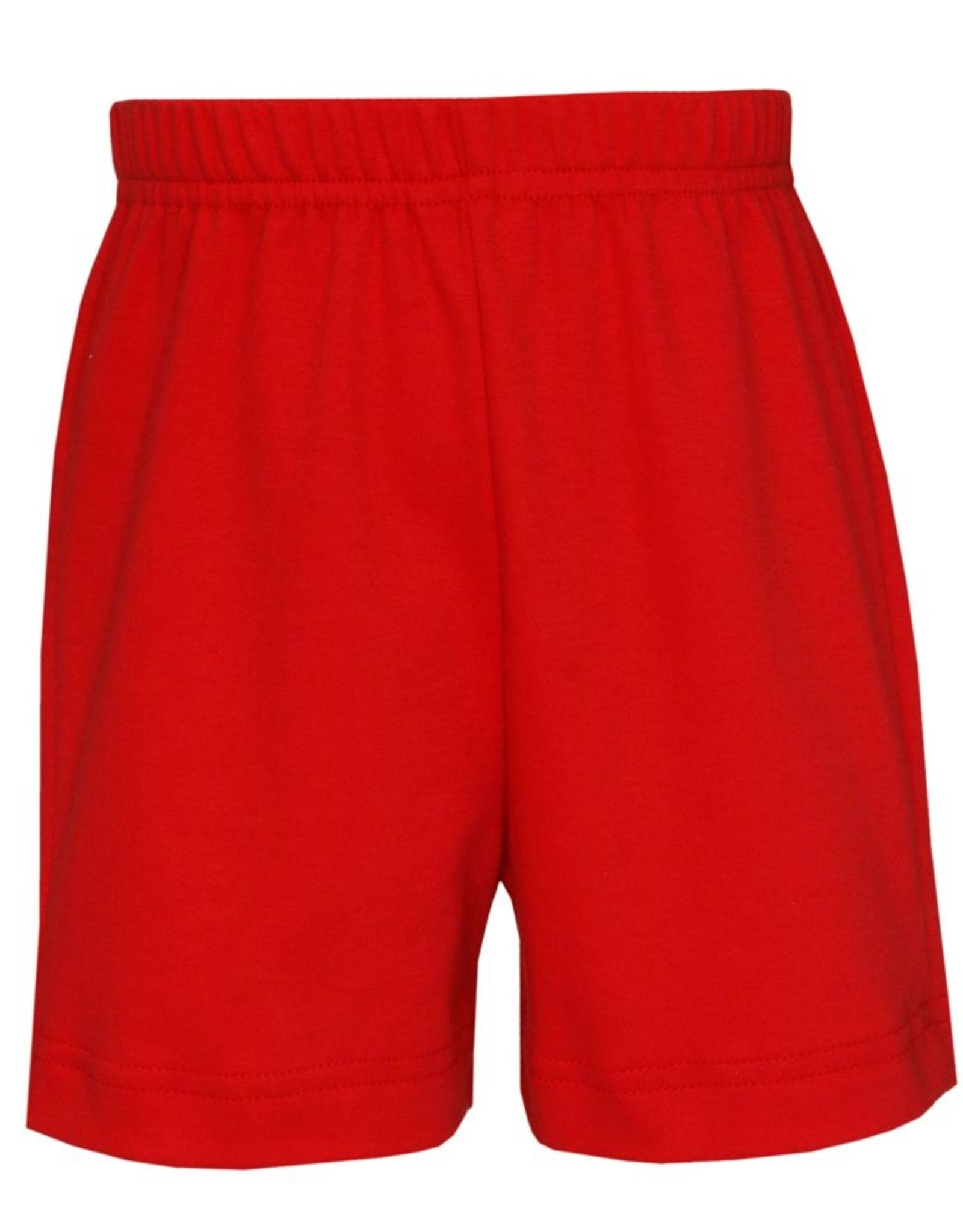 Claire and Charlie Periwinkle Highway Short Set With Red Shorts