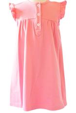Peggy Green Pink Sleeveless Knit Button Dress