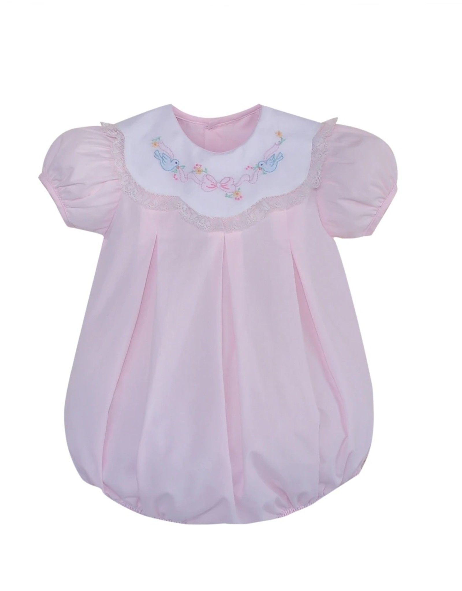 Remember Nguyen Pink Birds With Ribbon Bubble