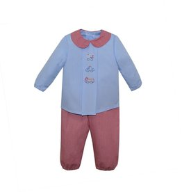 Remember Nguyen Red Rescue Pant Set