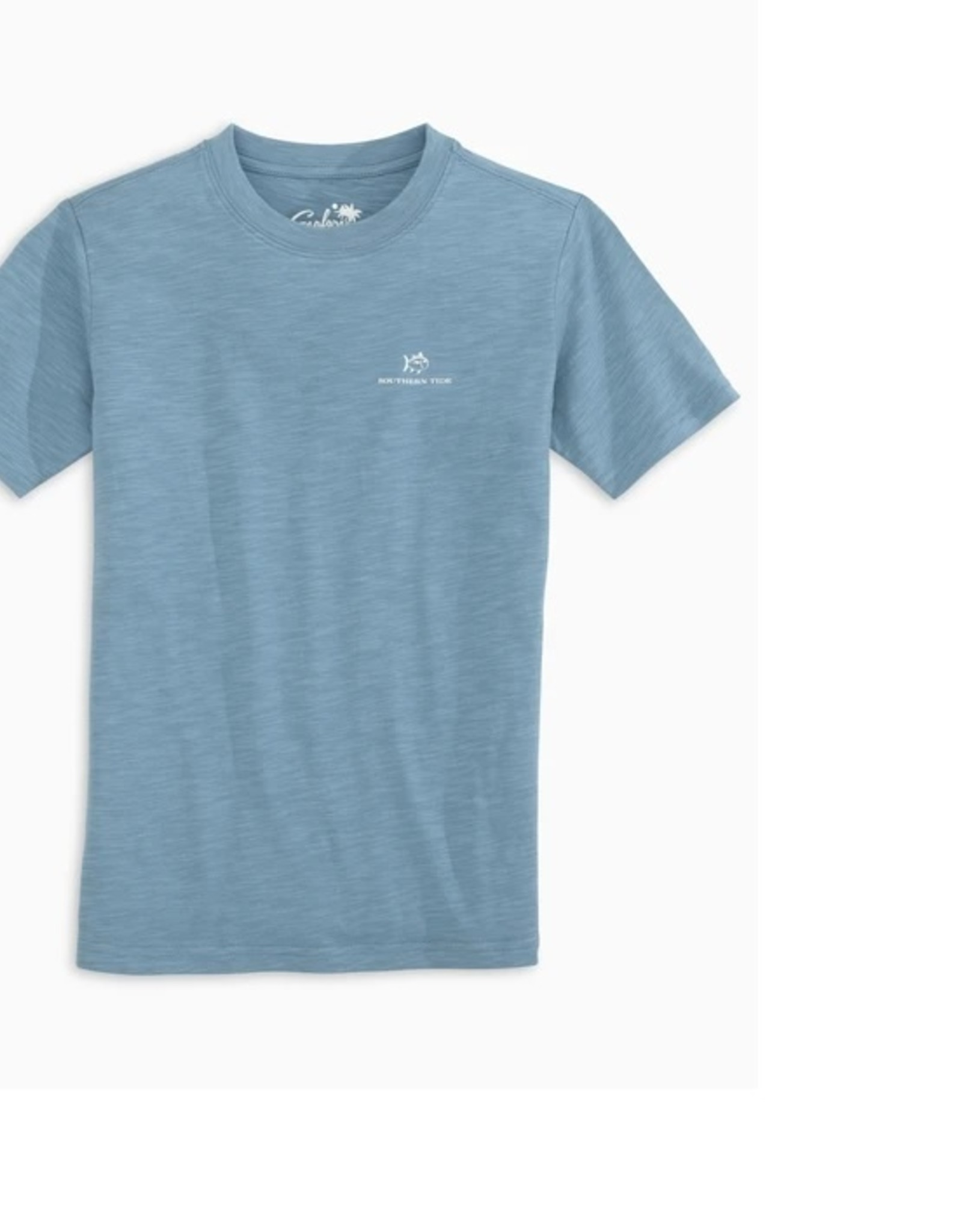 Southern Tide Blue Shadow Tully Sunfarer Tee