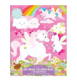 The Piggy Story Inc. Dry Erase Coloring Book