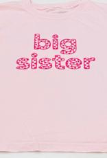 Mustard & ketchup Big Sister Tee Pink With Hot Pink