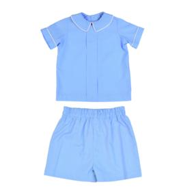 Funtasia Too Blue Pleat Mini Check Set