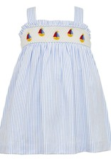 Petit Bebe Sailboats Strap Dress