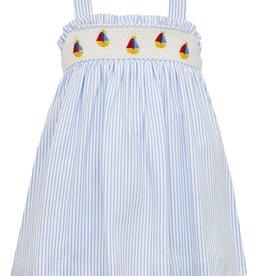 Petit Bebe Sailboats Strap Dress