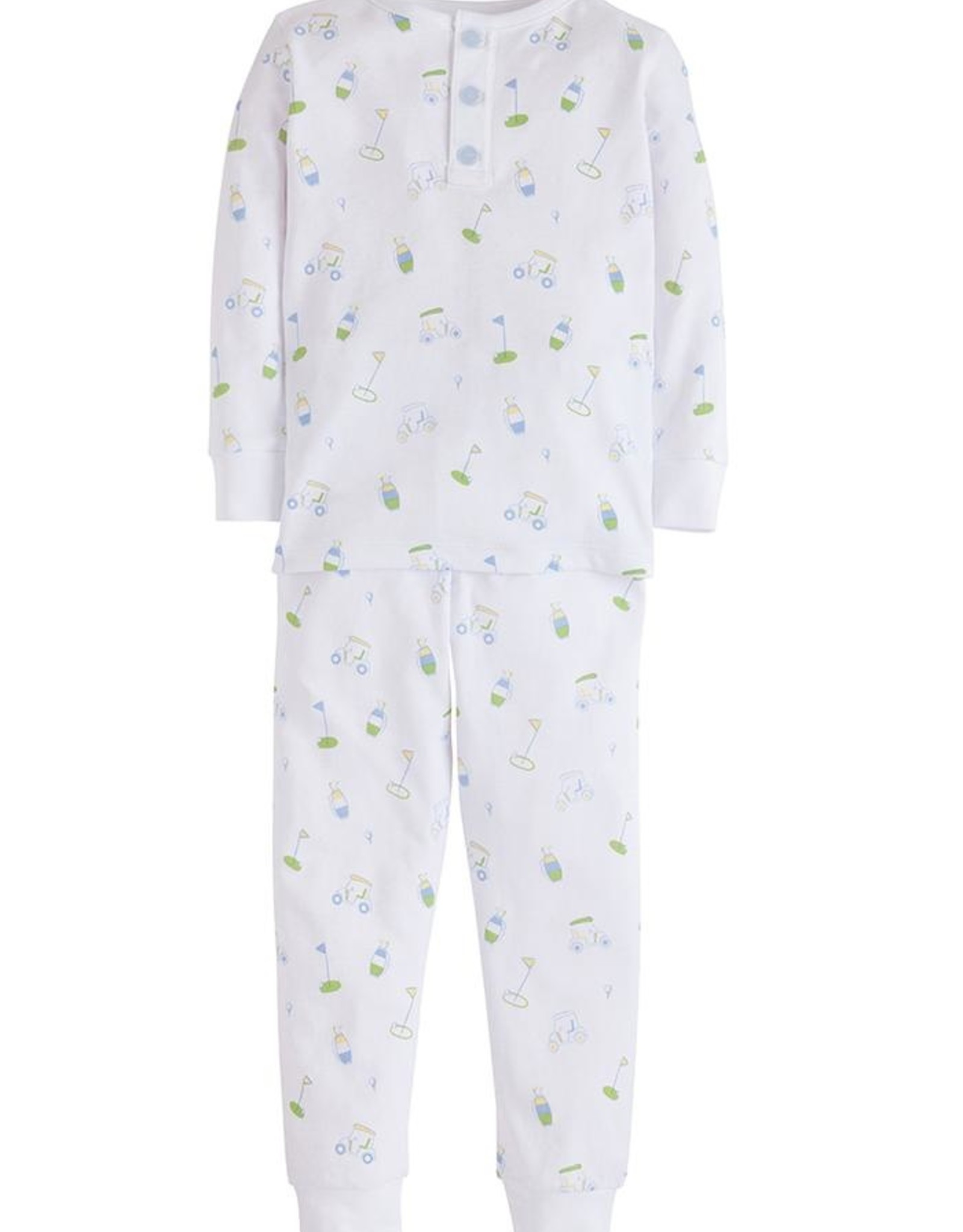 Little English Golf Printed Jammies