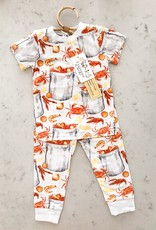 Velvet Fawn Eat More Seafood 2 Piece Jammie