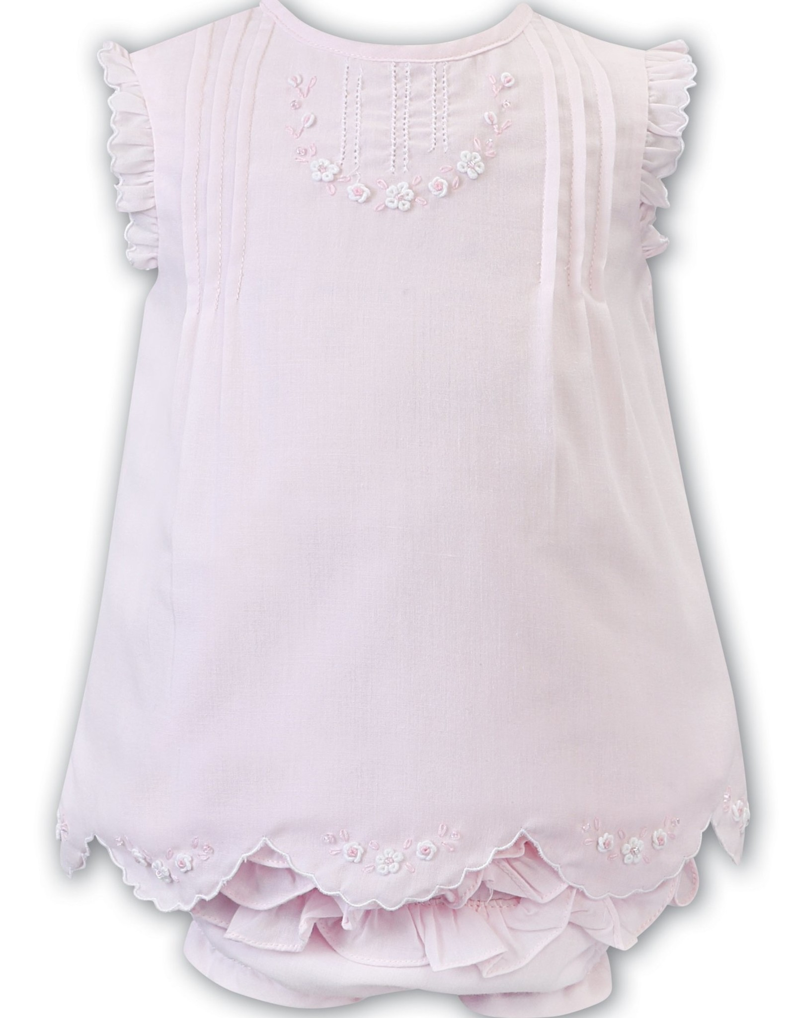 Sarah Louise Pink Dress And Panty Set