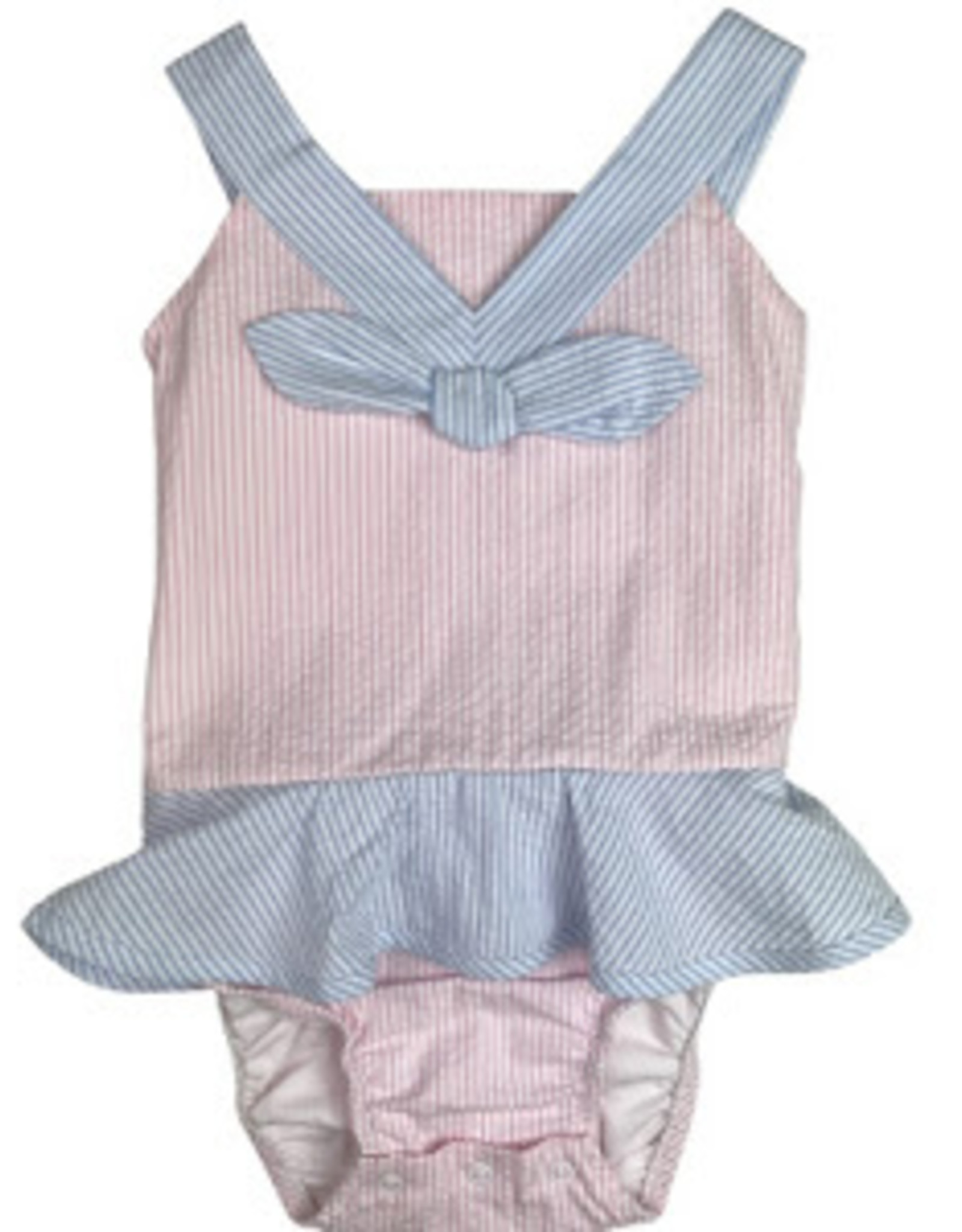LullabySet Nora Bathing Suit Seersucker