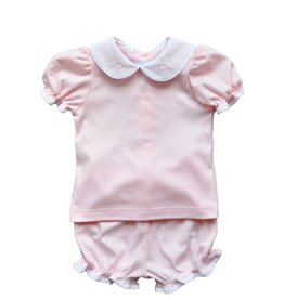Auraluz Pink Bow Diaper Set