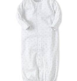 Kissy Kissy White With Elephants Converter Gown
