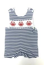 Anavini Blue Stripe Knit Crab Jon Jon