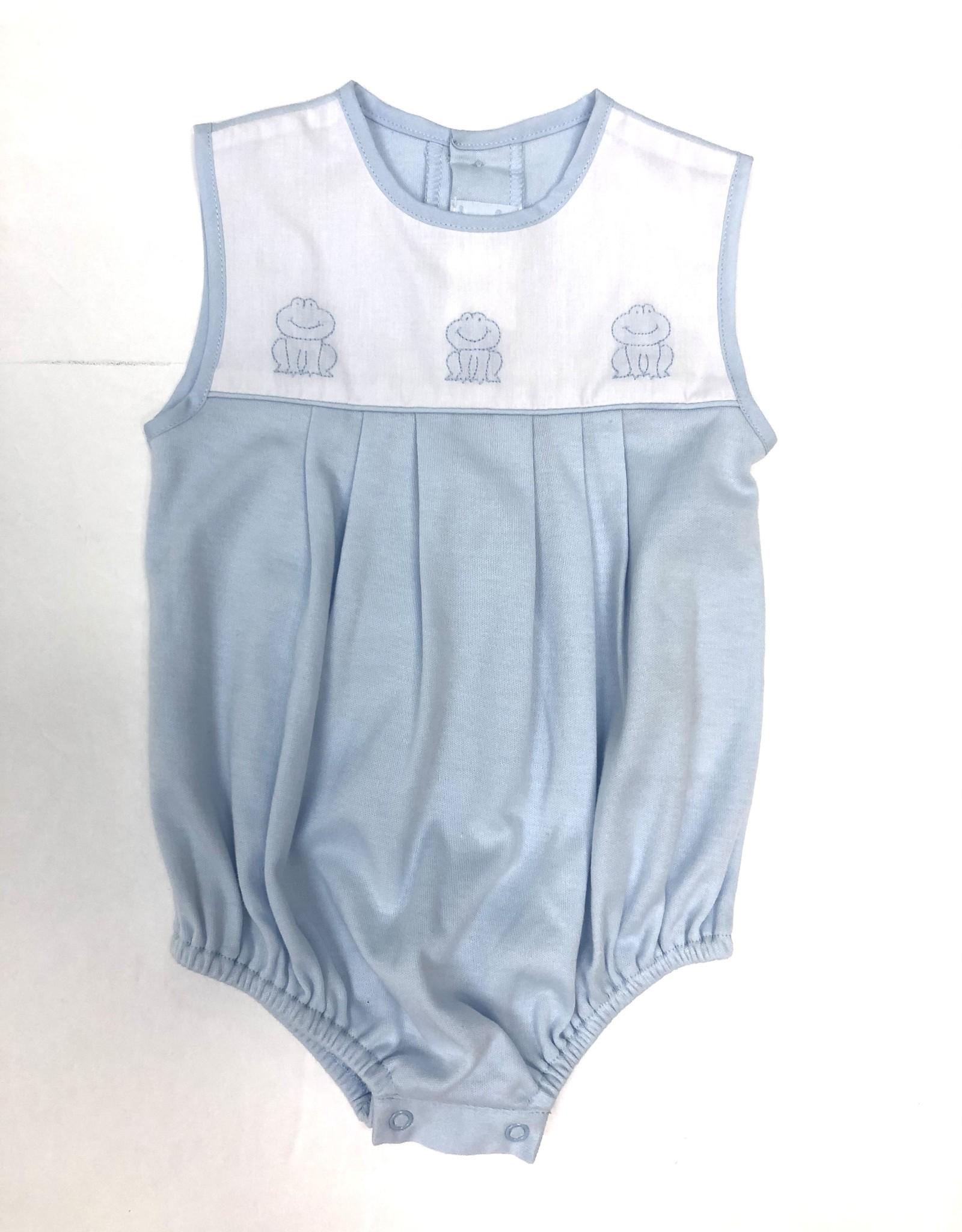 Auraluz Blue Frog Knit Bubble