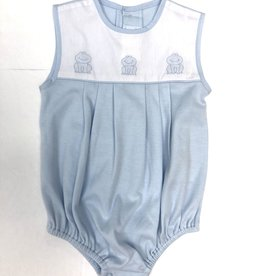Auraluz Blue Frog Knit Bubble