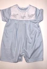 Auraluz Blue Plane Knit Shortall