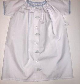 Auraluz White Car Daygown