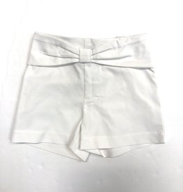 Mayoral White Shorts With Bow