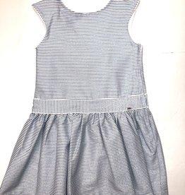 Mayoral Blue Striped Dress