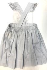 Petit Ami Navy Dot Sailboat Dress