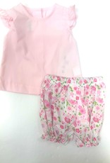 Zuccini Pink Floral Bloomer Set