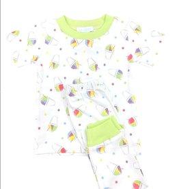 Lulu Bebe LLC Snoball 2PC Pants Set