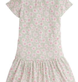 Bisby Isabel Dress - Mint Daisy Jersey