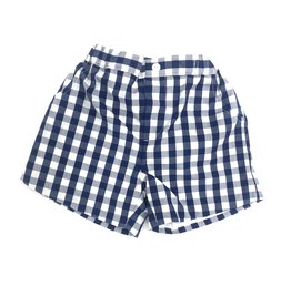 Claire and Charlie Royal Blue Plaid Shorts