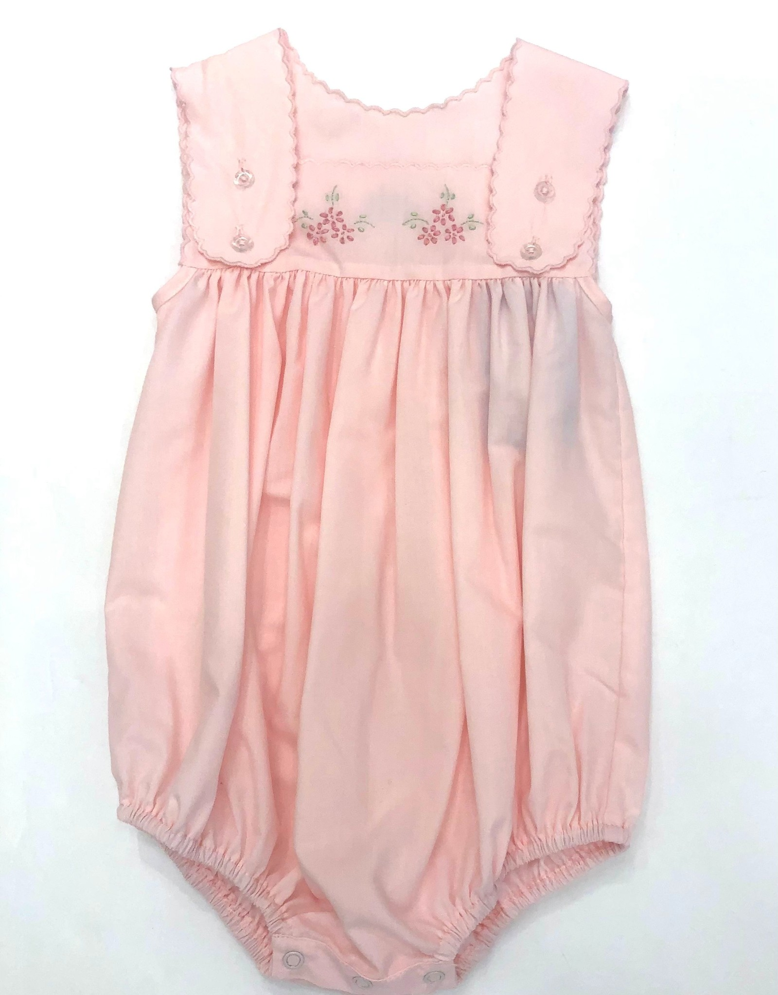 Auraluz Pink Bubble w/ Flower Embroidery