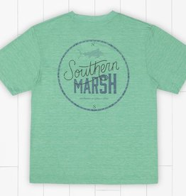 Southern Marsh FieldTec Heathered Tee